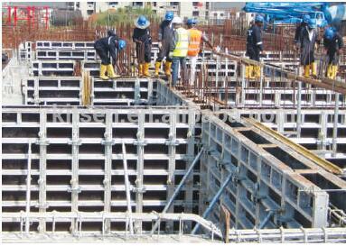 综合成本低建筑高层铝模板